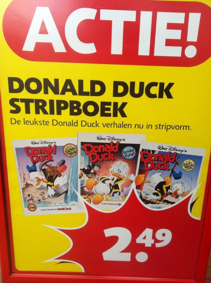 Donald Duck in stripvorm!